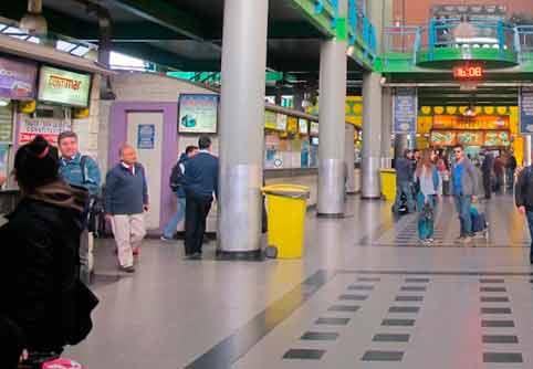 Terminal Sur de Santiago de Chile