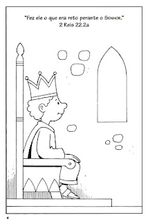 Fins and Marbles: Bible Story: Joash the Boy King