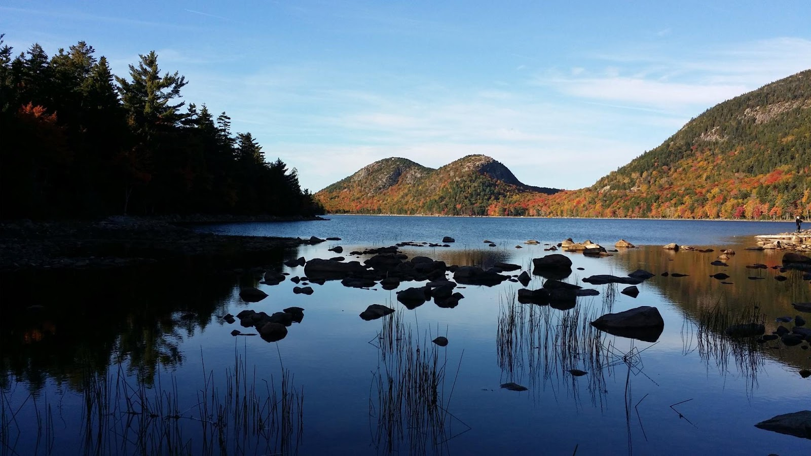 Jordan Pond a special fall experience at Acadia National Park wallpapers
