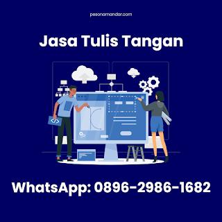 Jasa Tulis Tangan di Makassar