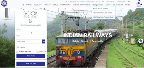 IRCTC eWallet is a feature and service through which a user can make a deposit of money in advance to IRCTC and then use it as a payment op...