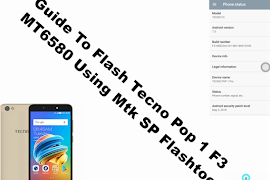 Guide To Flash TECNO W4S MT6580 Marshmallow 6 0 Tested Firmware