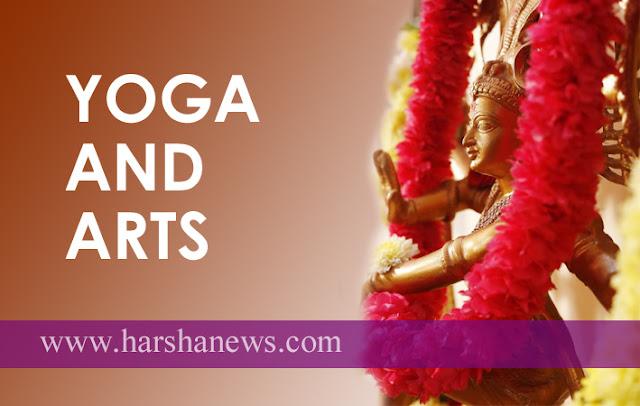 """""""YOGA AND ARTS""""_harshanews.com"""