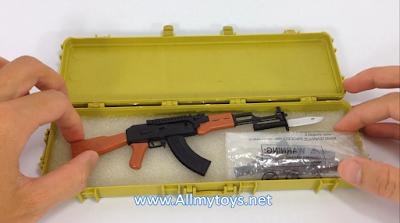 4D plastic 1:6 model toy gun AK74