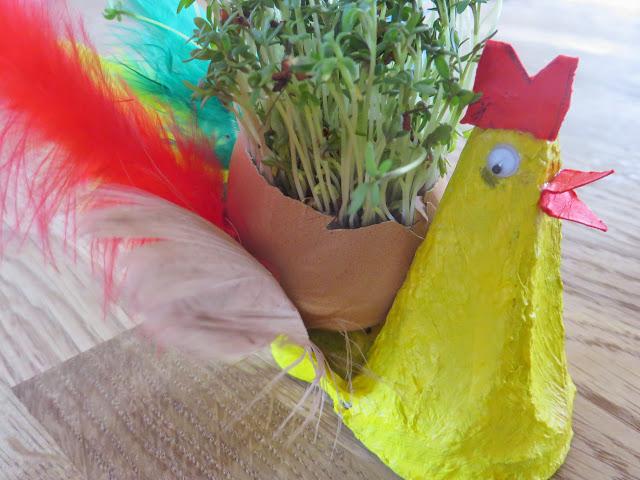 Kresse- Hühner