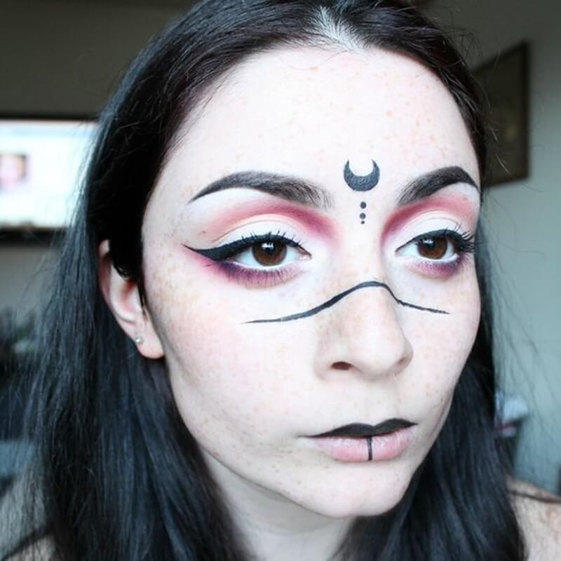 Maquiagem de Bruxa Halloween