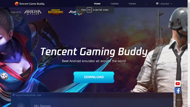 Tencent Gaming Buddy and Mobile Legends