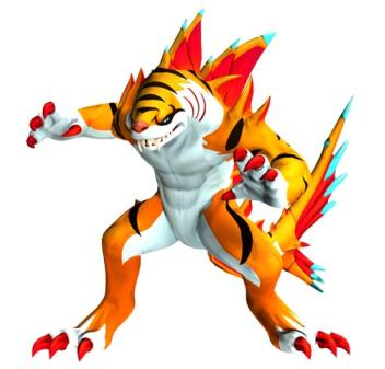 Blogmegumi web de videojuegos manga anime cine y ocio digital los invizimals este fin de - Tigershark invizimals ...