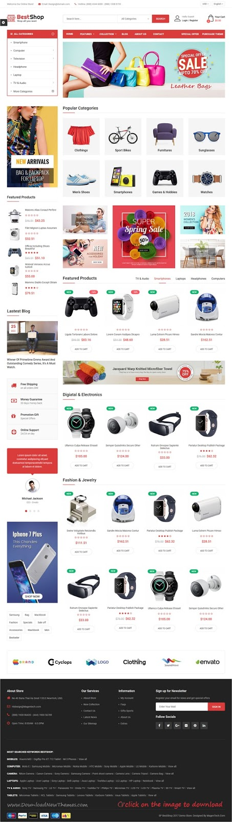 Best New eCommerce themes