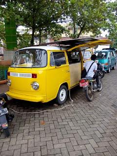 LAPAK MOBIL ANTIK : Dijual VW Kombi Modif Foodtruck - JEPARA