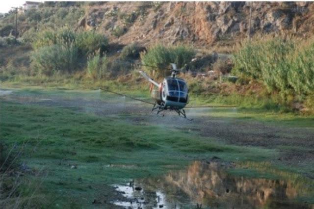 Πιλοτικοί ψεκασμοί για τον κίνδυνο εκδήλωσης ελονοσίας στην Περιφέρεια Πελοποννήσου