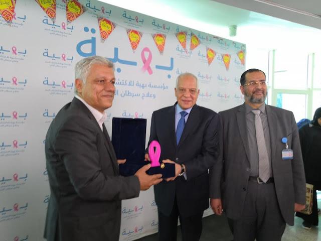 """""""بهية هي مصر """"اللواء أحمد راشد محافظ الجيزة يدعم مؤسسة بهية"""