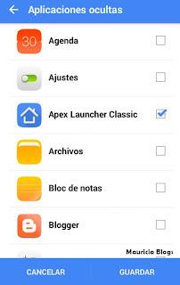 como ocultar apps en android