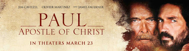Paul, The Apostle of Christ movie review and Fandango ticket giveaway #ad