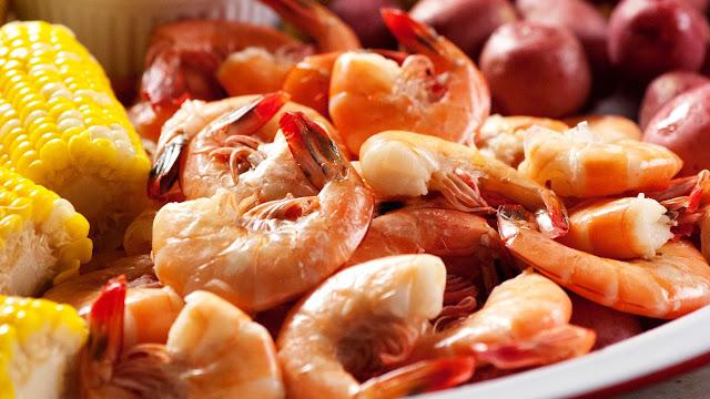 Spanish Boiled Shrimp - 1