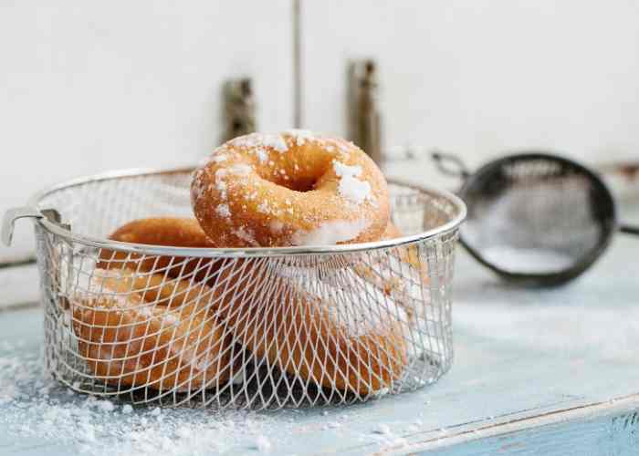 Canned Biscuit Donuts + Glaze Recipe