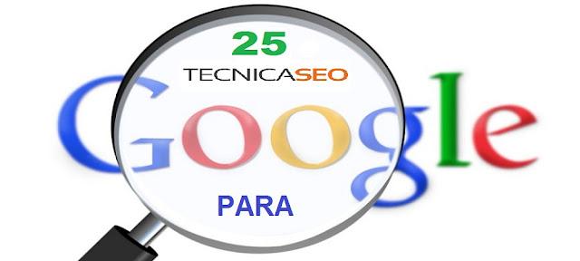 25 Técnicas SEO para Posicionar un Sitio Web