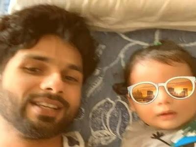 Shahid Kapoor fun with son Zain Kapoor video viral