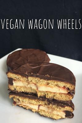 Vegan Wagon Wheels