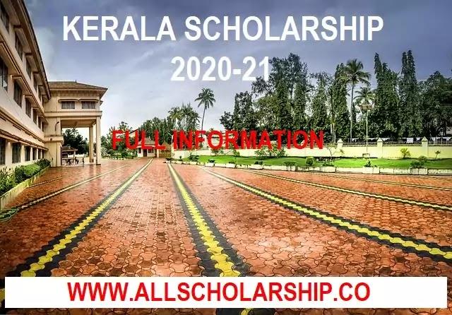 Kerala Pre matric scholarship 2020-21 | Kerala scholarship 2020