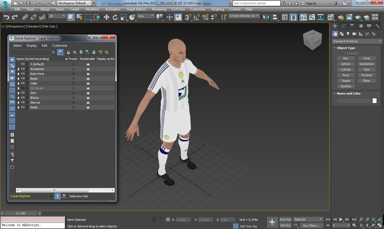 PES 2018 3D Kit Studio by Simonetos The Greek