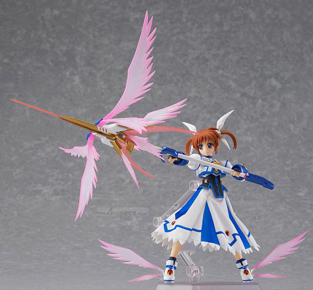 FIGURA NANOHA TAKAMACHI FIGMA Excelion Mode Ver. MAGICAL GIRL LYRICAL NANOHA The MOVIE 2nd A's