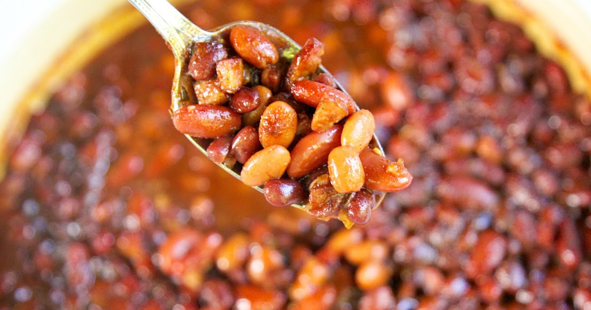 how to make baked beans from scratch with pinto beans