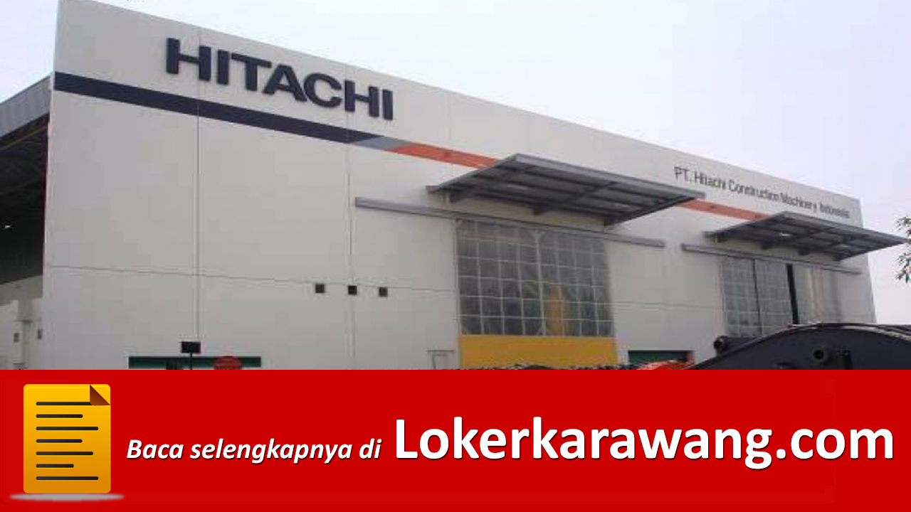 PT. Hitachi Construction Machinery Indonesia