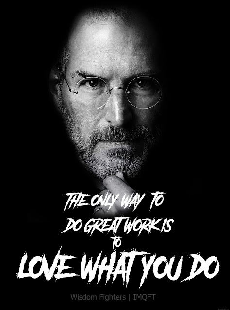 Steve Jobs Quotes | Wisdom Fighters | IMQFT