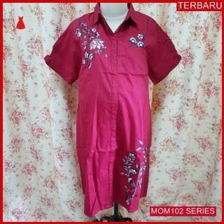 MOM102D20 Dress Hamil Menyusui Modis Selena Dresshamil Ibu Hamil