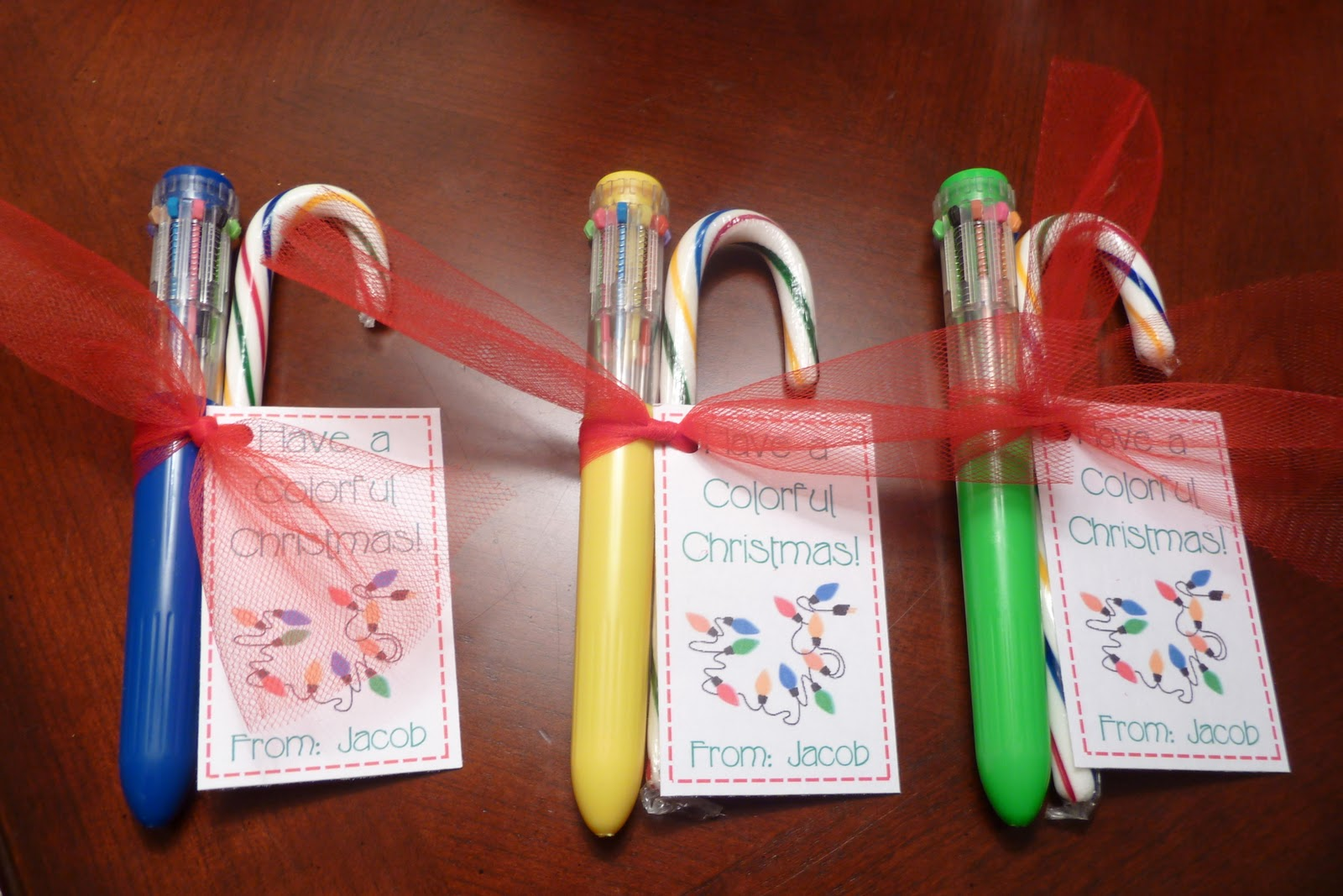 Room Mom Extraordinaire: Classmate Gifts for Christmas