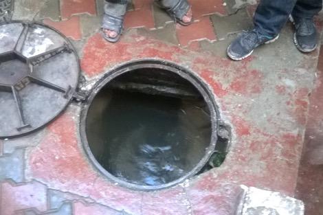 العثور على أشلاء رضيعة في قناة للصرف الصحي في هذه المدينة