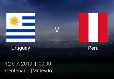 LIVE MATCH: Uruguay Vs Peru Fifa Internationals 10/10/2019