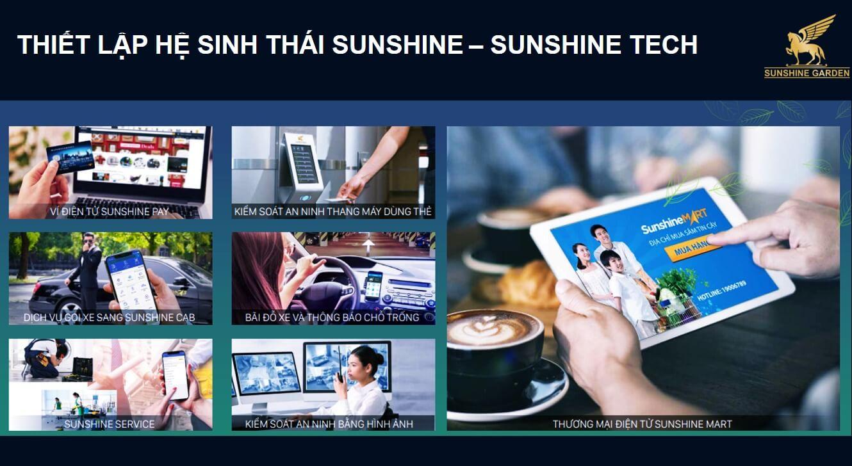 Hệ sinh thái của dự án Sunshine Garden 34 Vĩnh Tuy