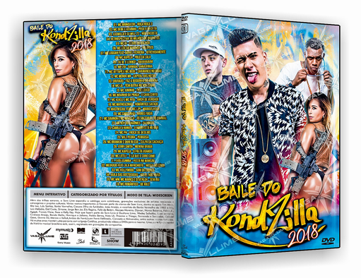 DVD – BAILE DO KONDIZILLA 2018 – ISO