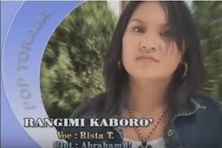 Lirik Lagu Rangimi Kaboro' (Rista Tangirerung)