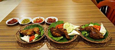Ayam Singgang, Ayam Kalasan dan Ayam Serundeng Kopi Bandar Muzakki