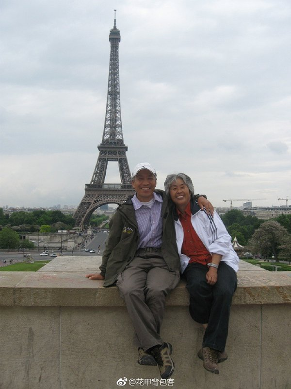 Retired couple goes backpacking around the world
