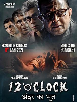12 O' Clock (2021) Hindi Movie Pre-DVDRip x264 1Gb | 750Mb | 300Mb