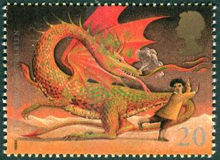 1998 GB 20p The Hobbit by Tolkien