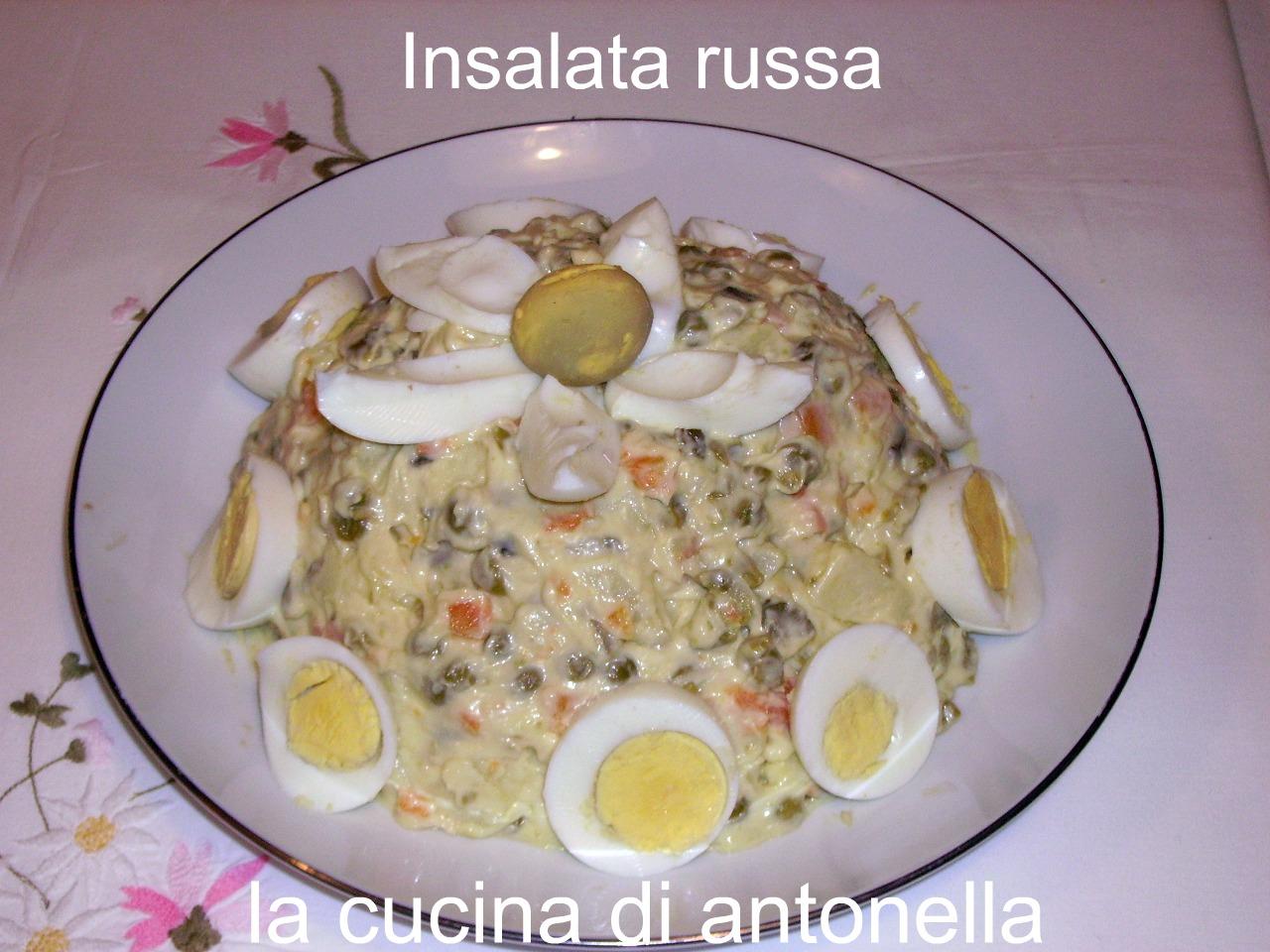 Ricetta Insalata Russa Pentola A Pressione.La Cucina Di Antonella Insalata Russa