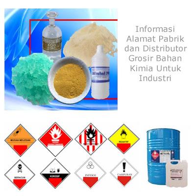 Info Distributor Bahan Kimia Industri