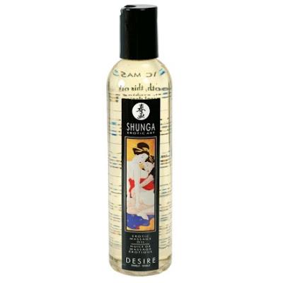 aceite de masaje erótico shunga