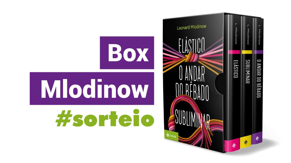 Sorteio de 3 best-sellers de Leonard Mlodinow de uma vez só!