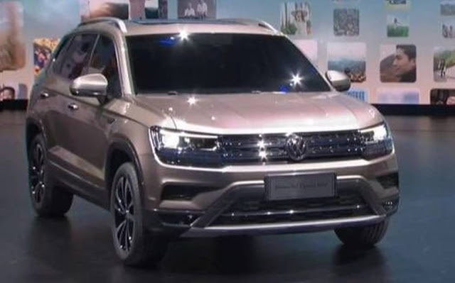 VW SUV - concorrente do Jeep Compass