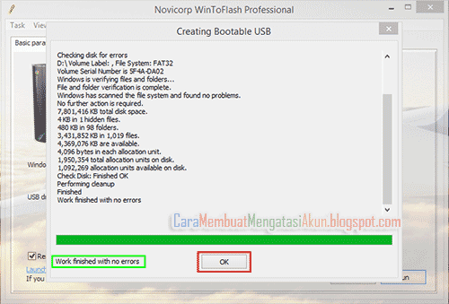 cara instal windows lewat flashdisk