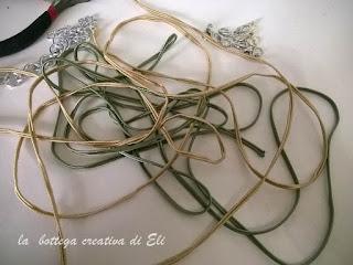 fili sintetici per collana
