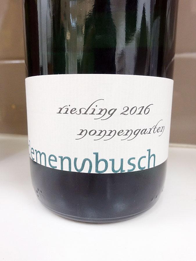 Clemens Busch Nonnengarten Pündericher Ortswein Riesling 2016 (91 pts)