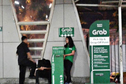 GRAB Pick Up & Drop Off Point : Akankah GRAB Merambah Dunia Nyata