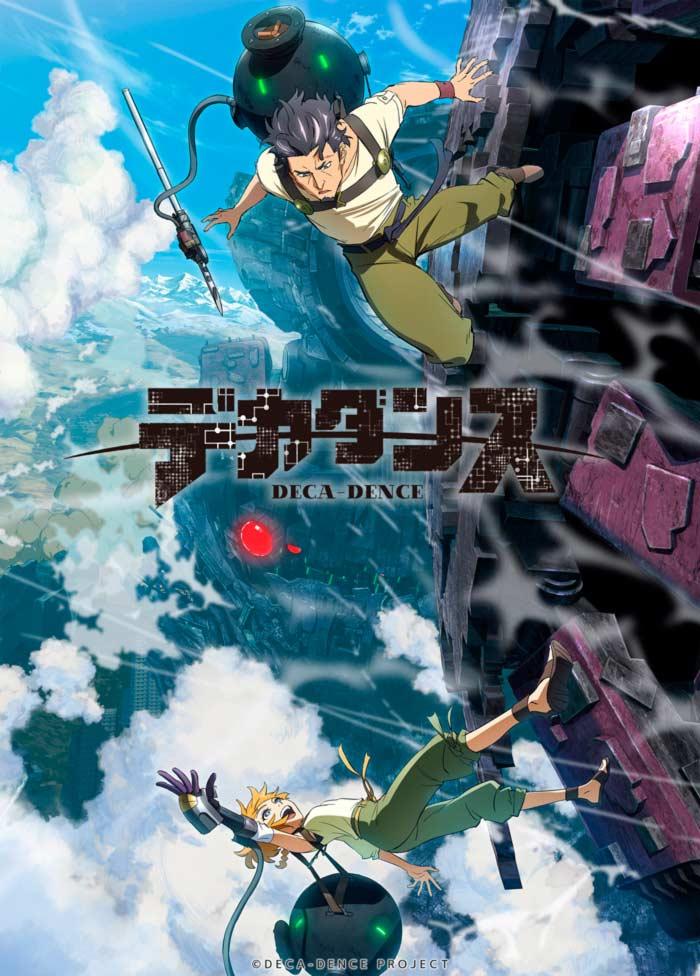Deca-Dence anime - poster